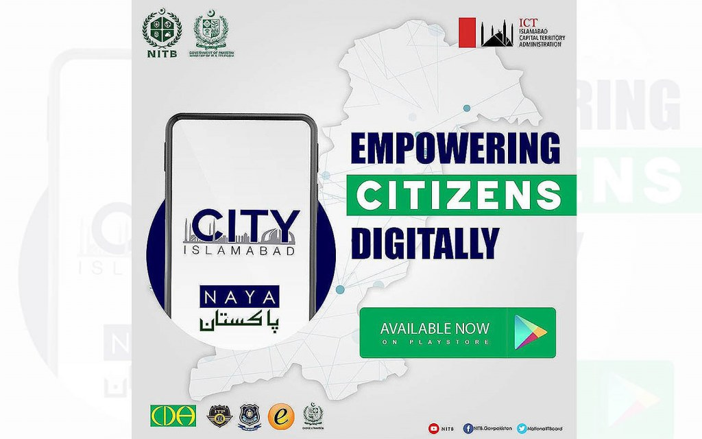 City Islamabad App is a new e-portal for the residents of the capital