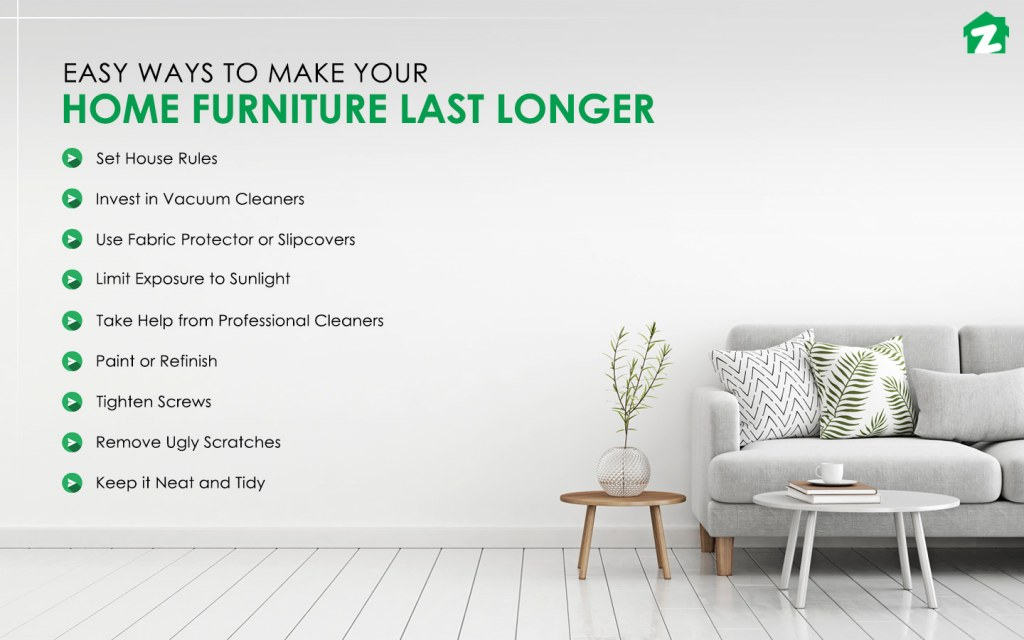 Easy Ways to Make Your Home Furniture Last Longer!
