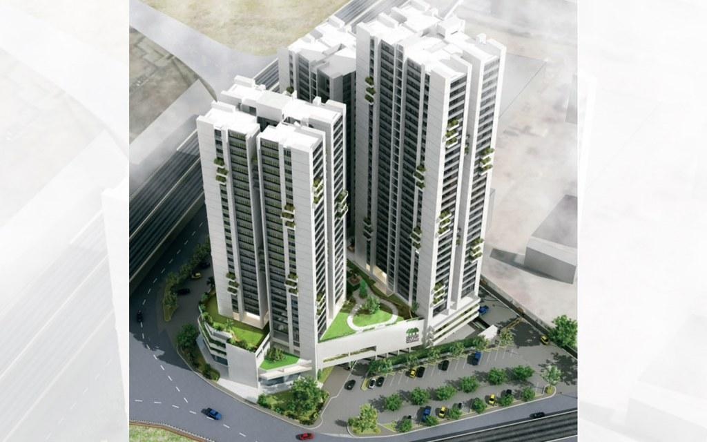Three Towers of Grove Residency, Karachi