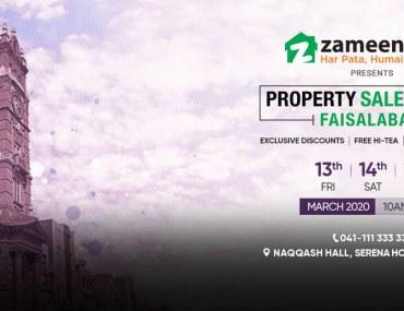 Zameen.com Returns with Property Sales Event Faisalabad