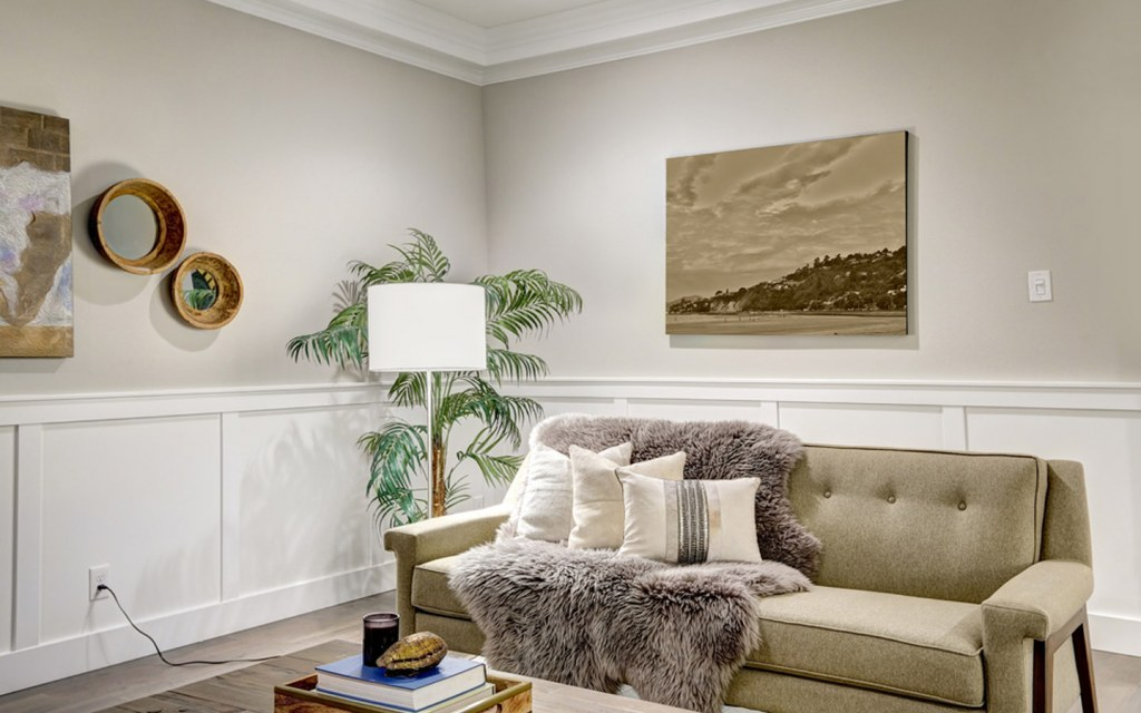 A blend of textures at home
