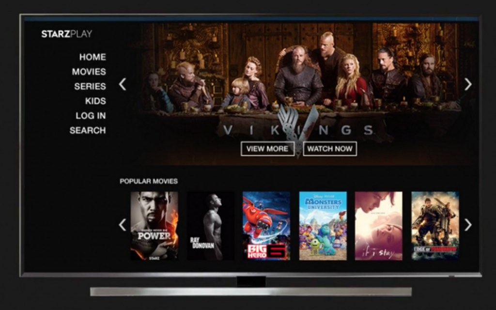 Starz Play is a US-based online streaming service in Pakistan