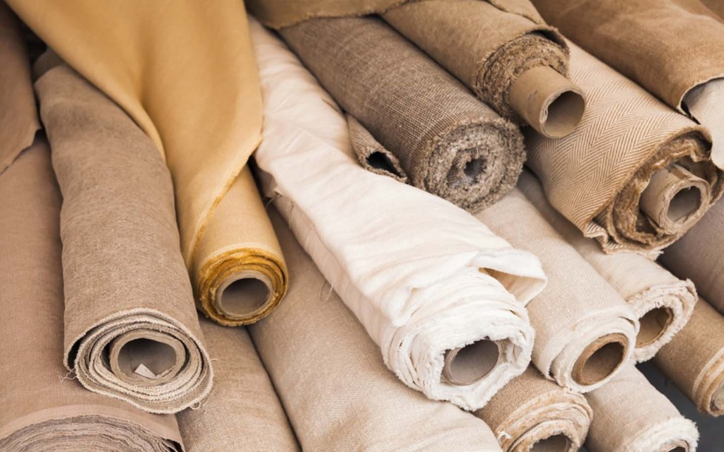 linen is a good upholstery fabric