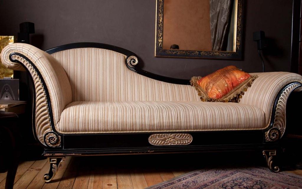 Silk upholstery for sofa