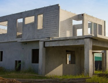 construction cost of the grey structure of an A+ 5 marla house