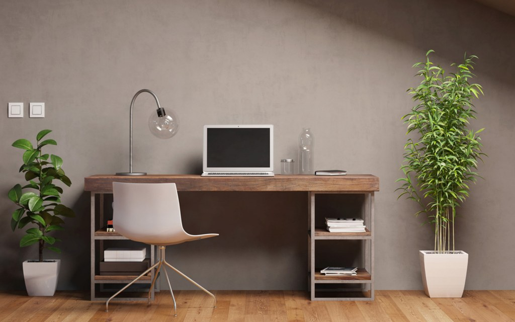 creative desk ideas for working from home
