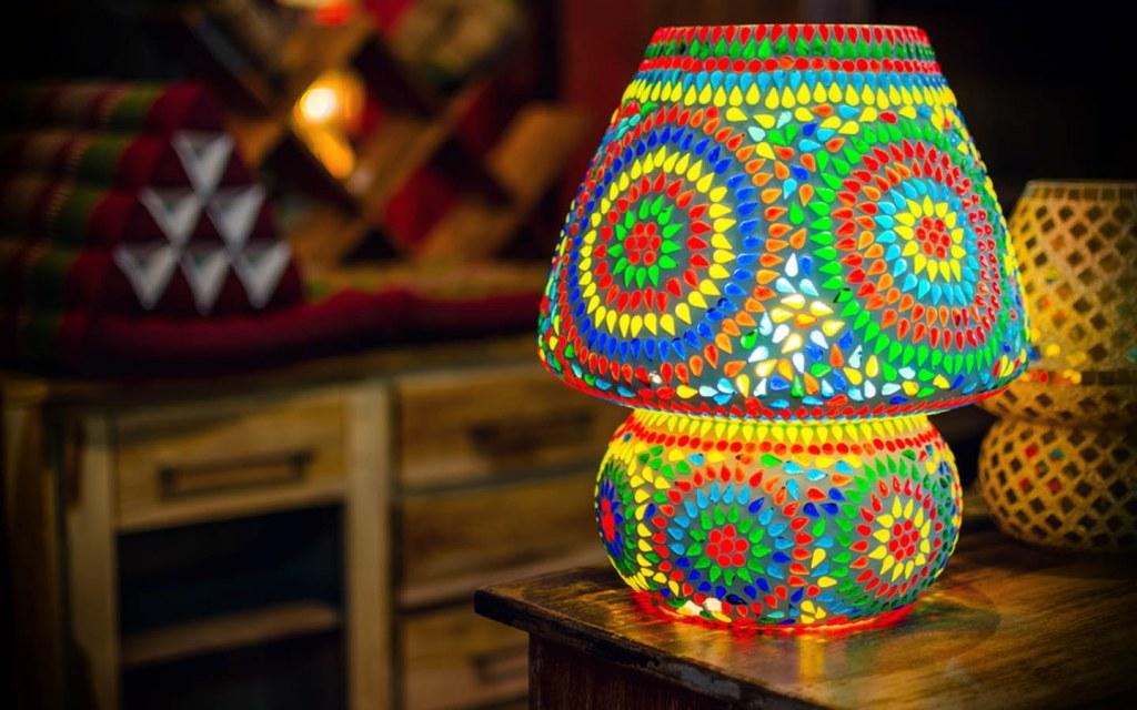 Turkish lampshades