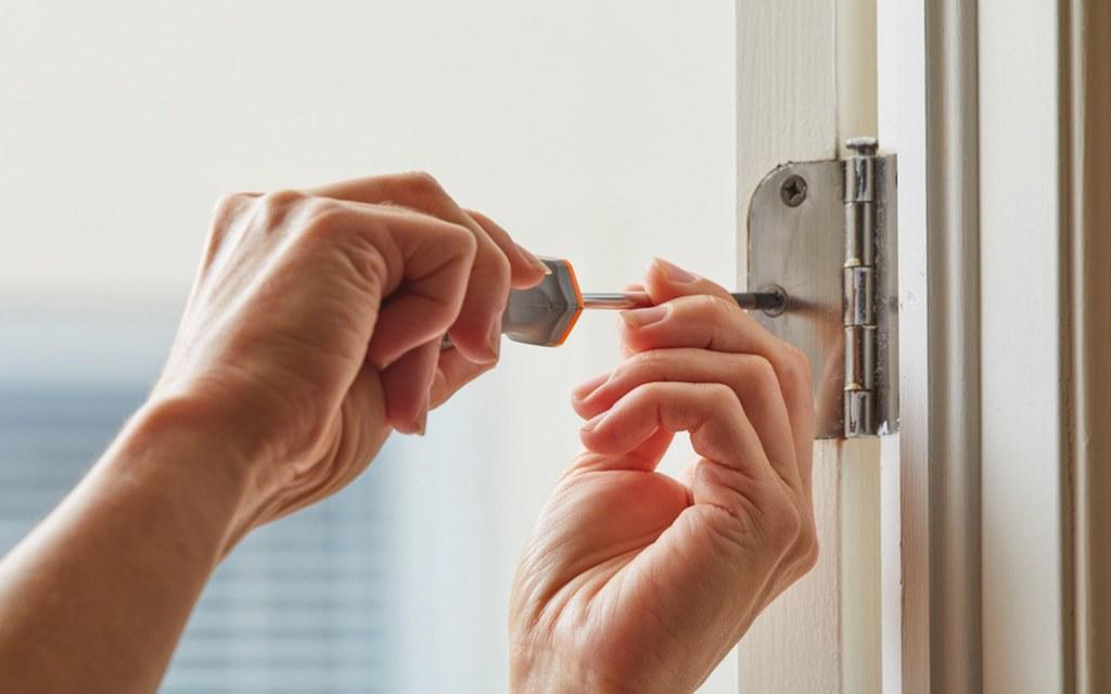 Reinstalling Your Door After Paint Job