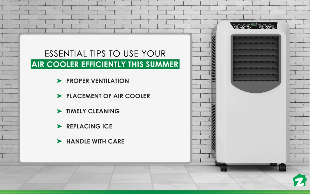 Tips to use air cooler efficiently this su