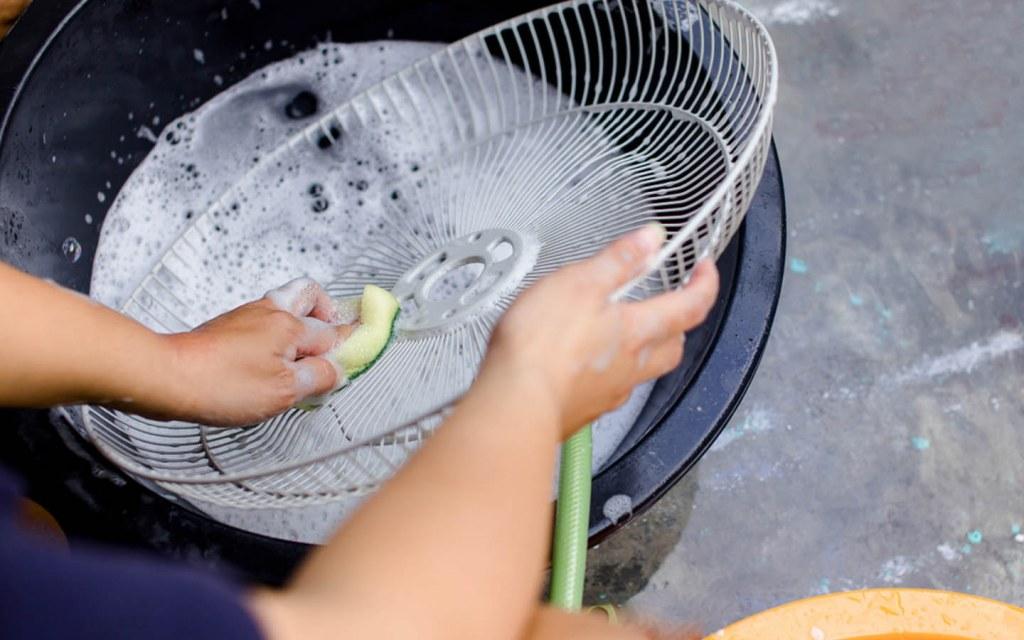 Washing Fan Grill