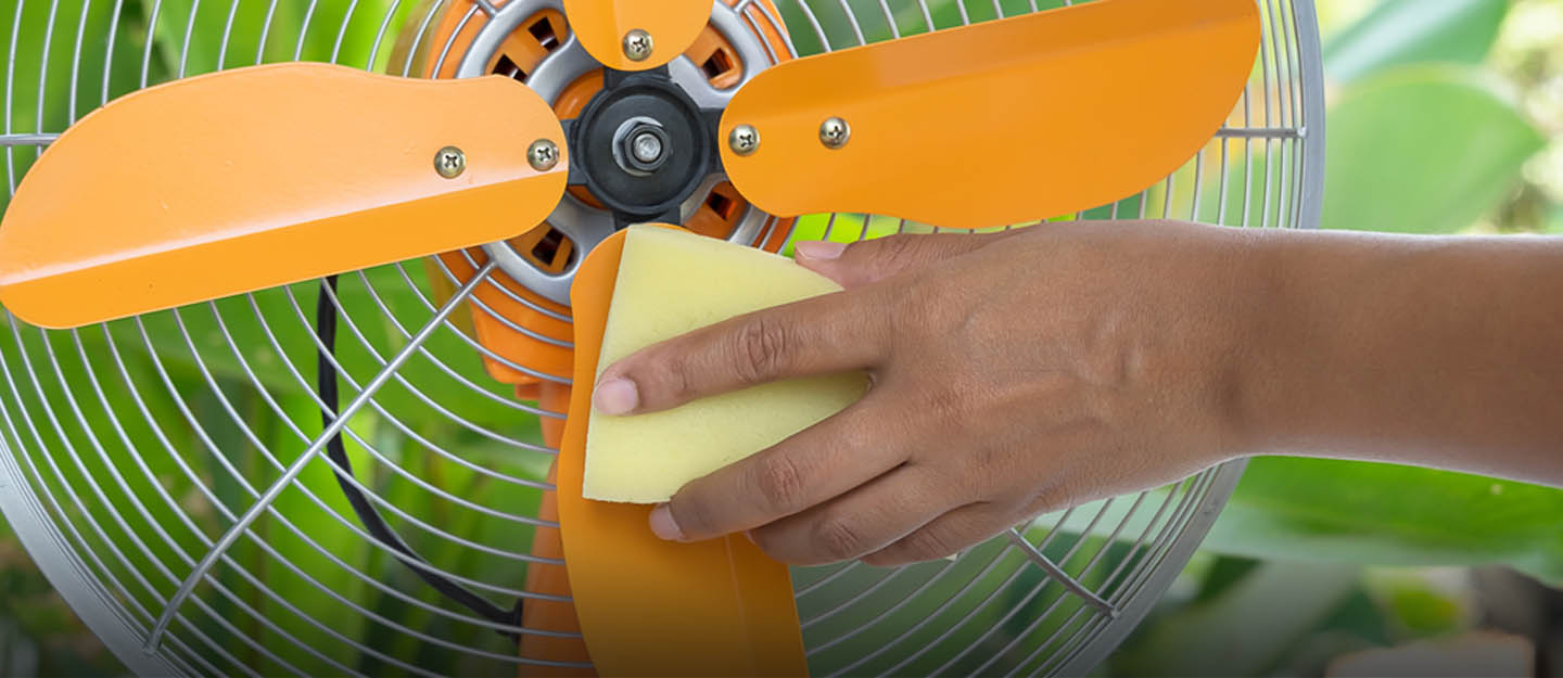 How to Clean Fans Around the House
