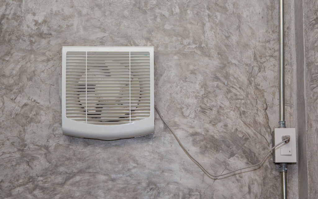 install exhaust fan to  get the hot air out of your house
