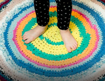 Make your own homemade rug