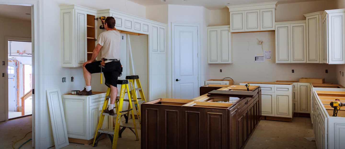 How to install cabinets in kitchen or anywhere in your house
