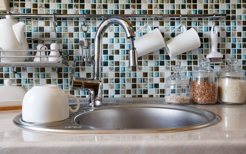pull-down  kitchen faucet installation