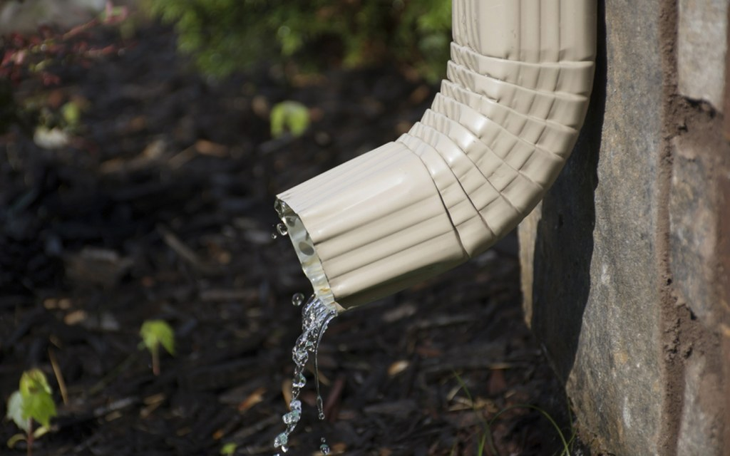 proper water drainage system
