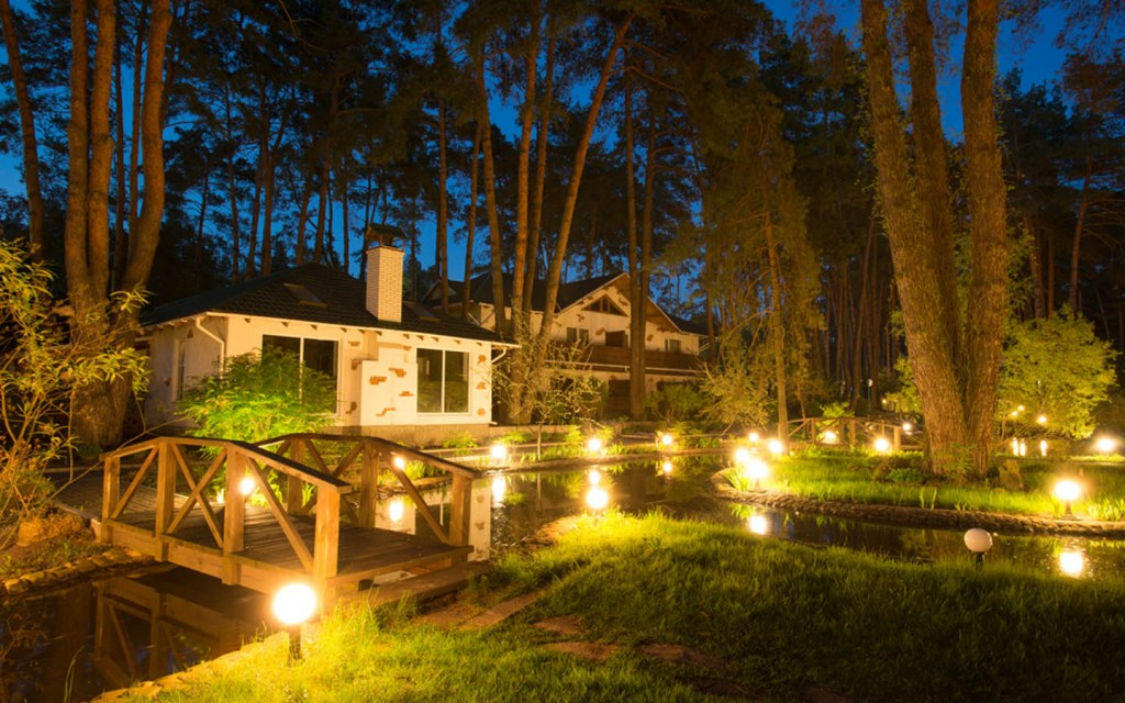 Landscape lighting is also known as outdoor lighting