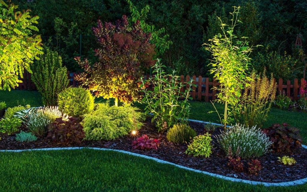 Garden lights also provide the best landscape lighting