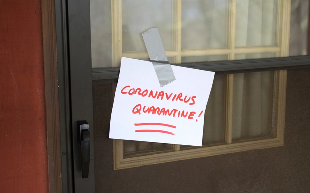 quarantine and isolation are two different terms