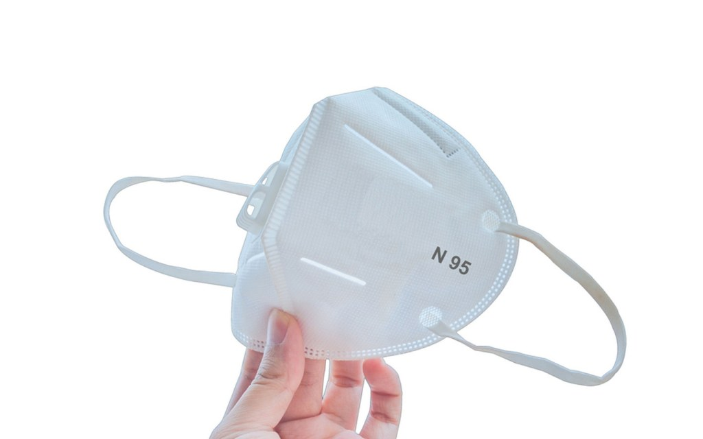 N95 and normal surgical masks can be worn to stay safe from airborne particles