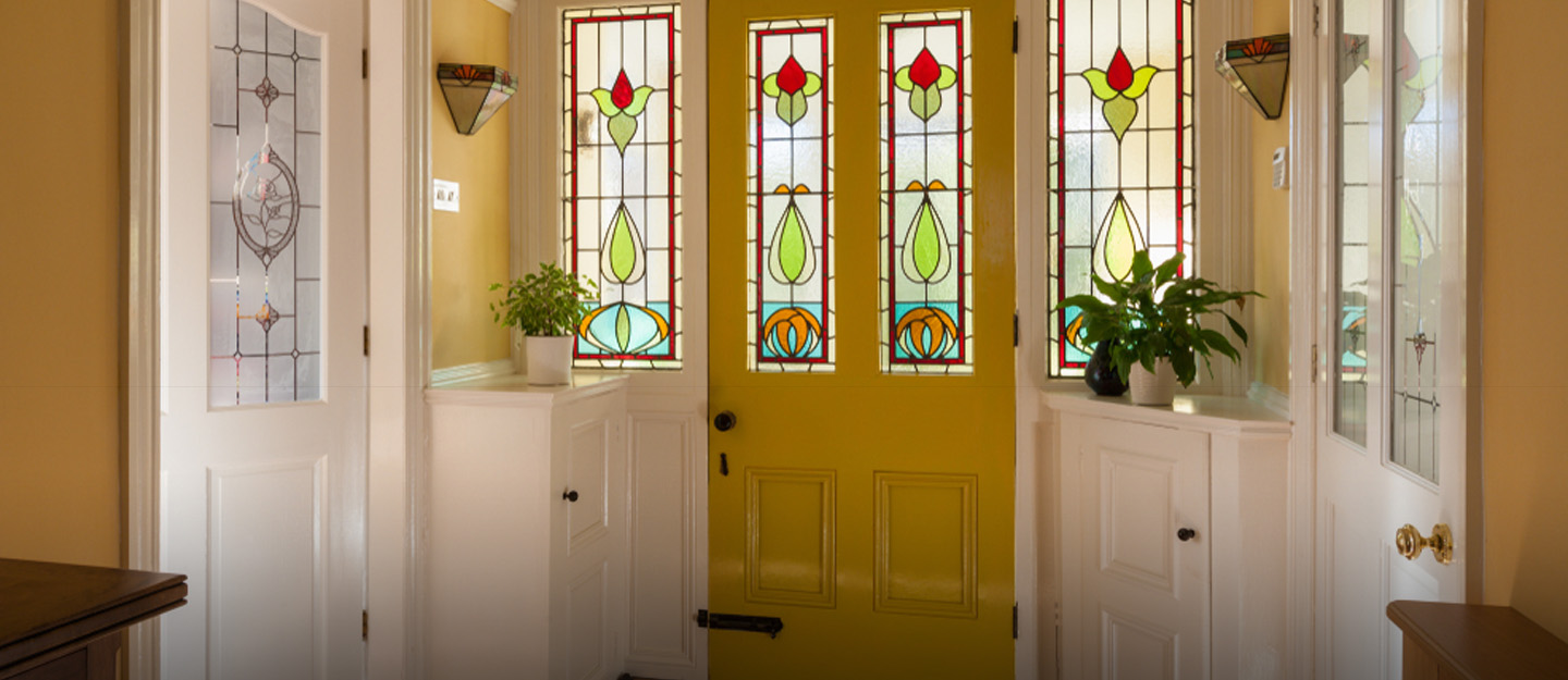 Use Stained Glass in Your Home's Decor