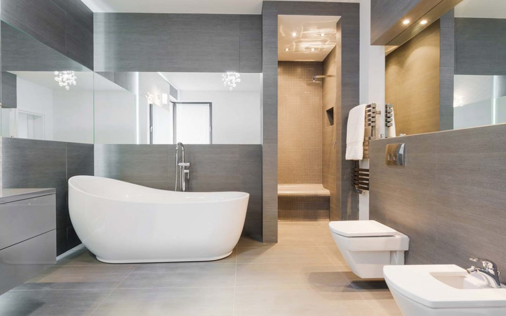 wall-mounted commodes are one of the best choices in bathroom fittings