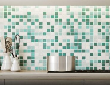 clean kitchen backsplash tiles