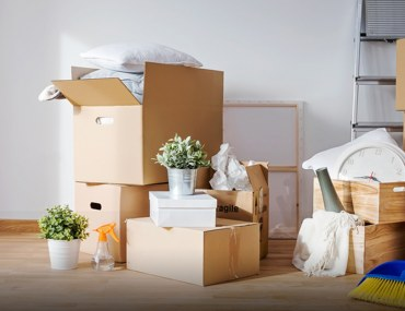 how to clean a new house after moving in