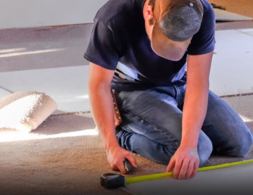 Step by step guide for carpet installation