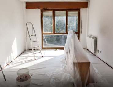 Tips for preparing walls and ceiling for paint