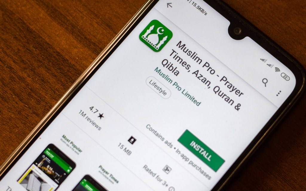 Muslim pro Islamic App