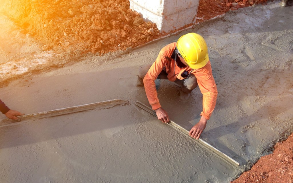 Masonry cement is used to make a water-resistant structure