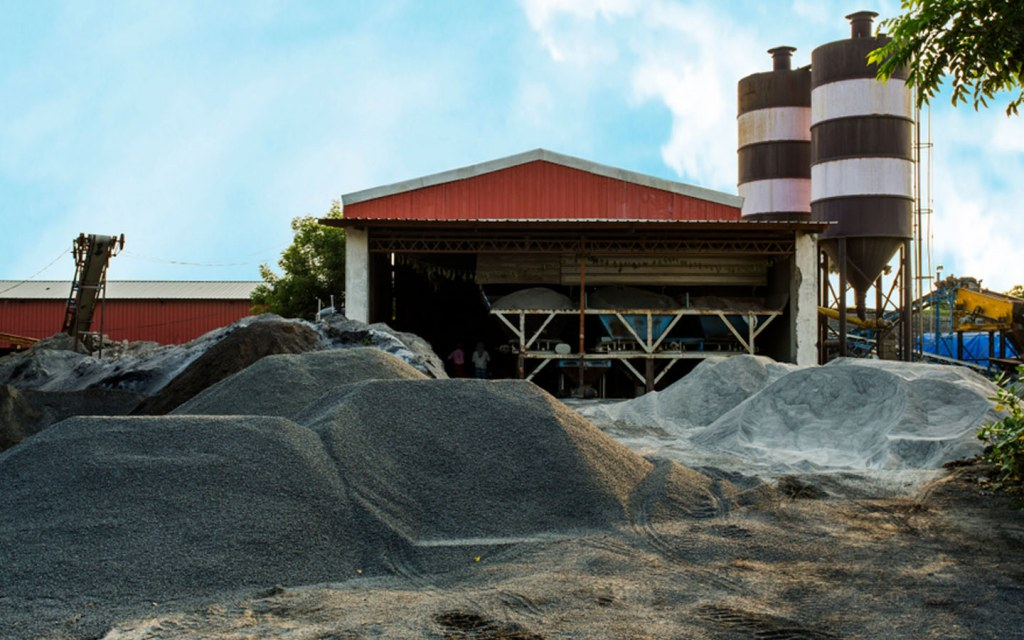 Blast furnace cement is made from ordinary cement