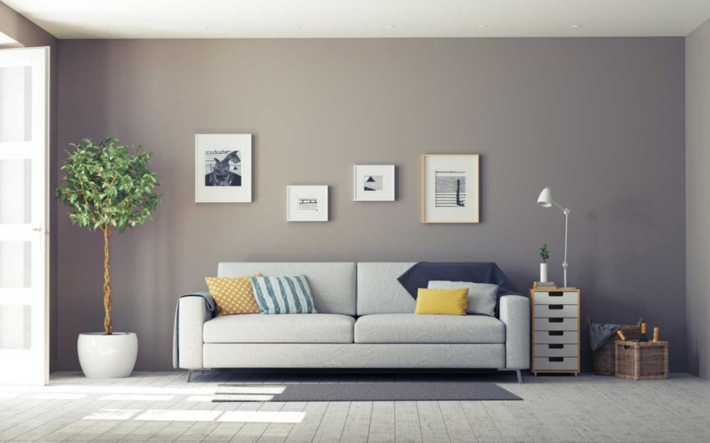 less cluttered living room is best for childproofing