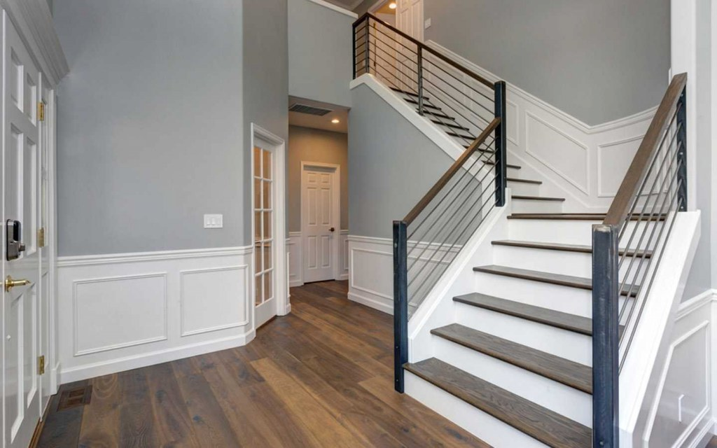 install babygates to childproof your stairs