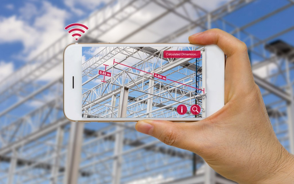 You can visualise the construction process using virtual reality