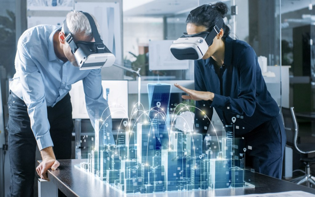 Helps city planners plan out the city using virtual reality