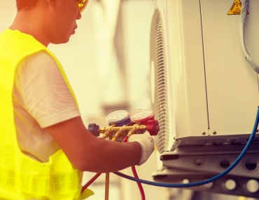 Tips for filling gas in an AC unit