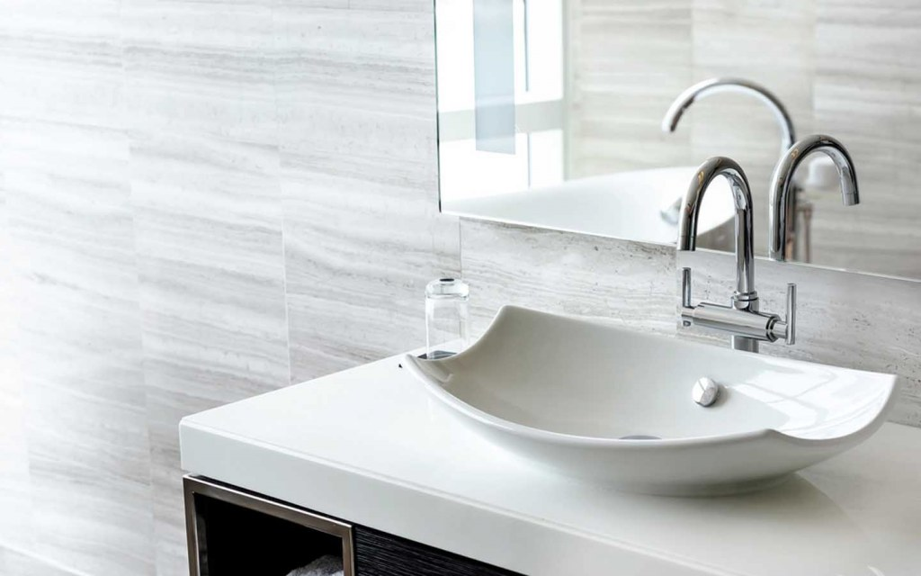 different types of bathroom sinks