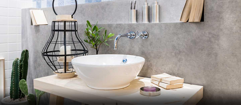 bathroom sink material
