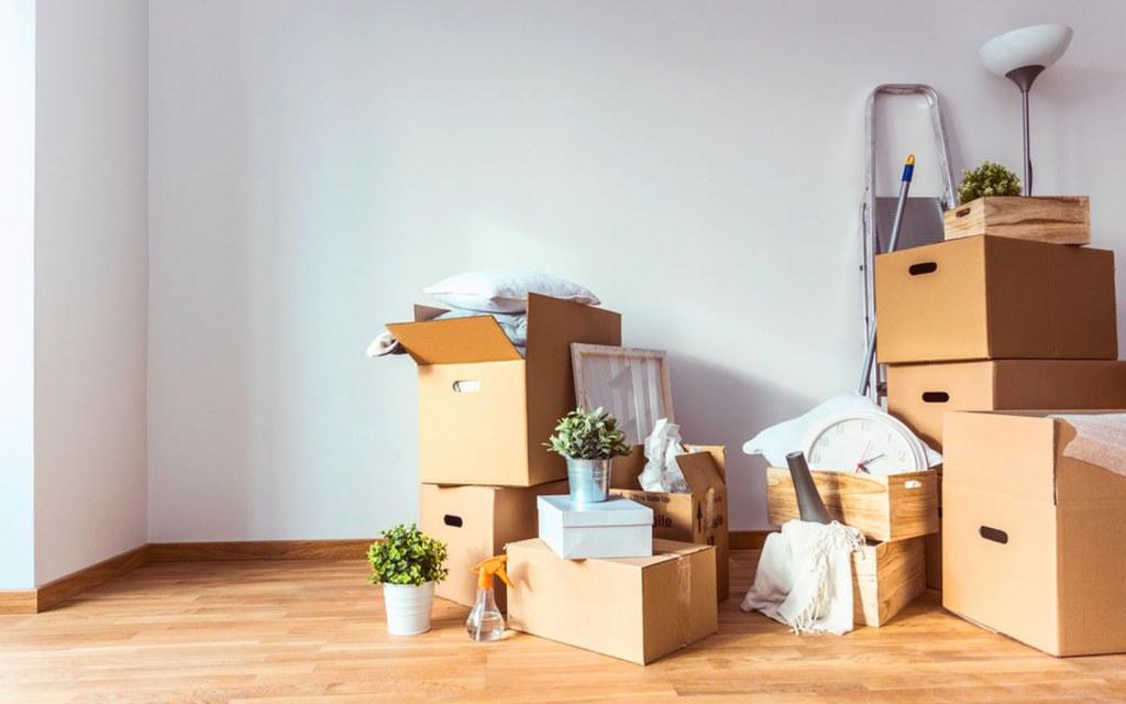 Unpack the boxes slowly
