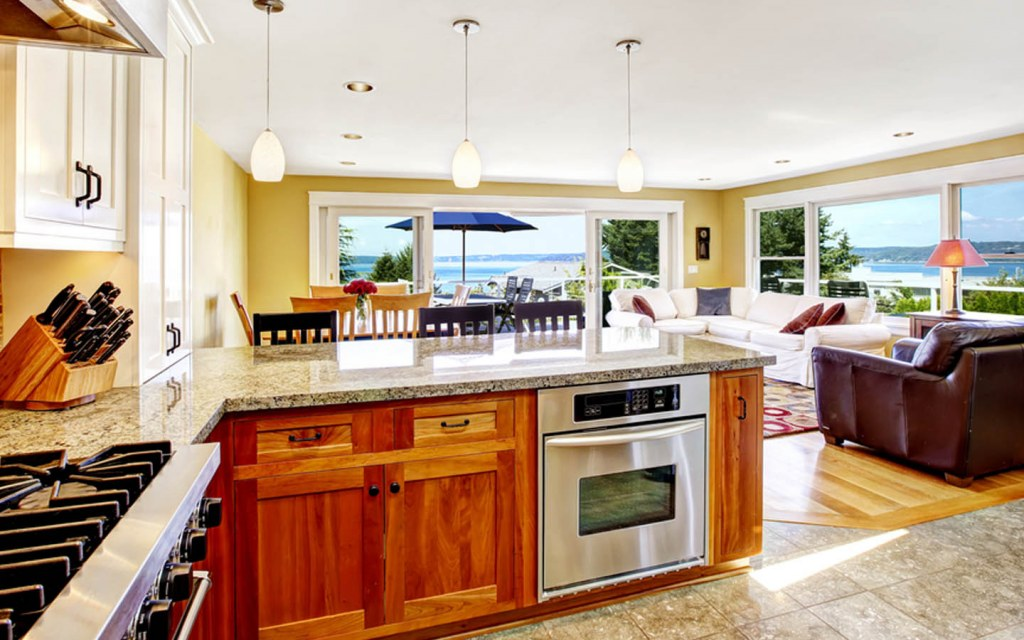 Extend the kitchen countertop