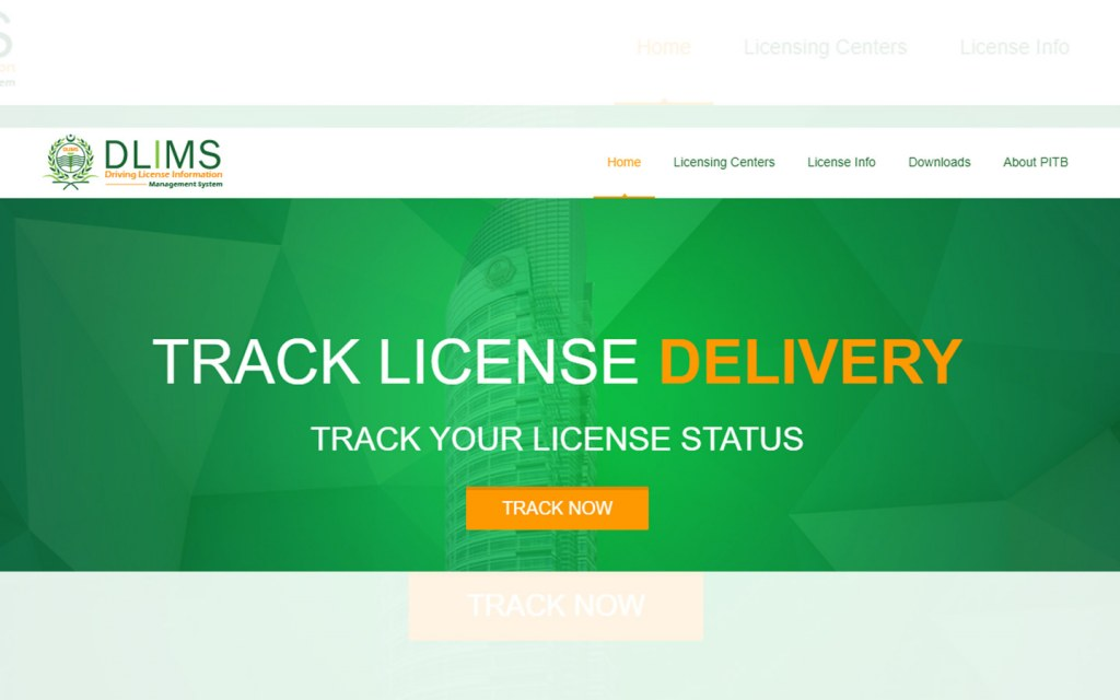 track your license delivery through DLIMS