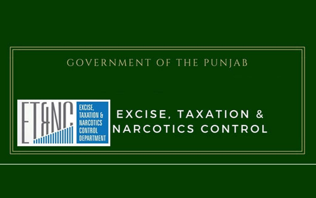 Punjab's Excise and Taxation Department