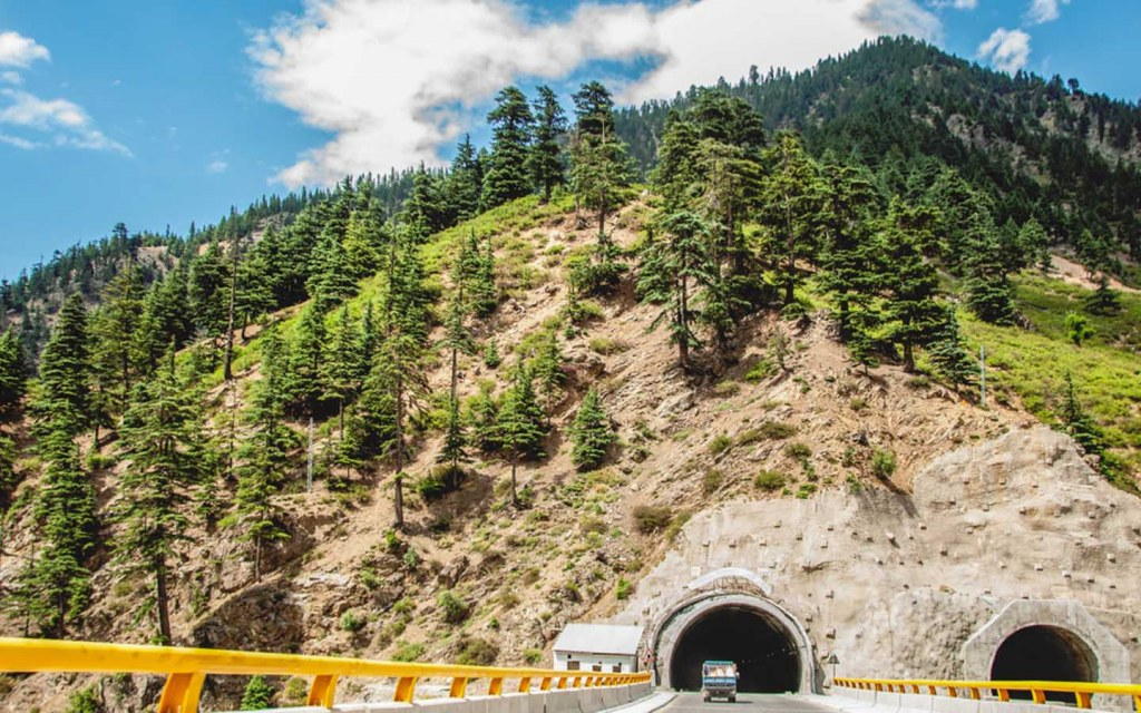 Lower tunnels facilitates traffic at lowari pass
