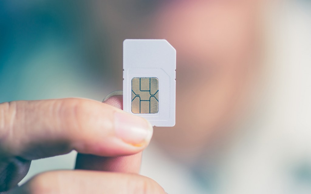 SIM card supports GSM network