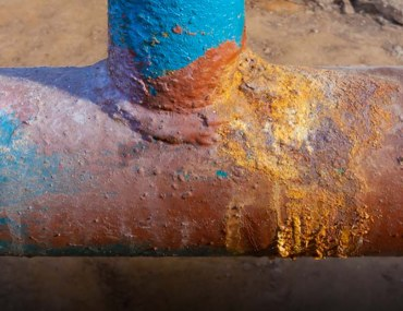 preventing water corrosion in pipes