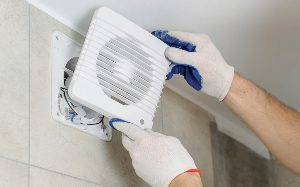 Installing exhaust fan to keep your kitchen cool during summer