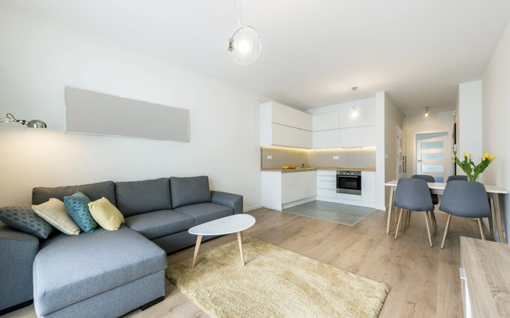 two bedroom flats are spacious and ideal for small families