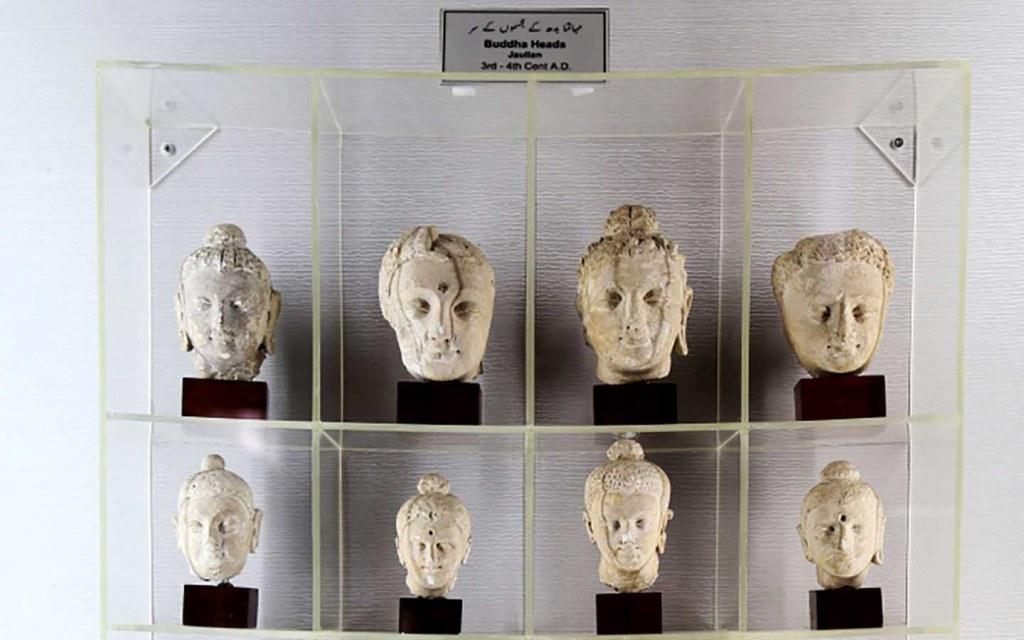 Buddha Heads, Taxila